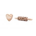 Muschel - Junior Nudelholz für Kekse