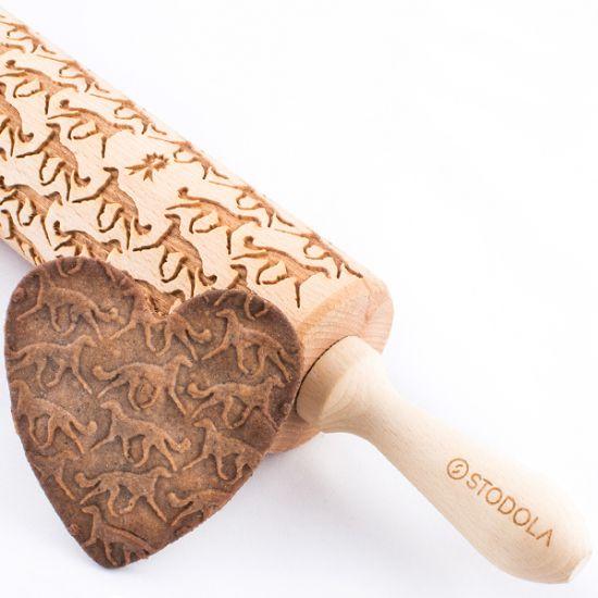 Persischer Windhund – Nudelholz für Kekse