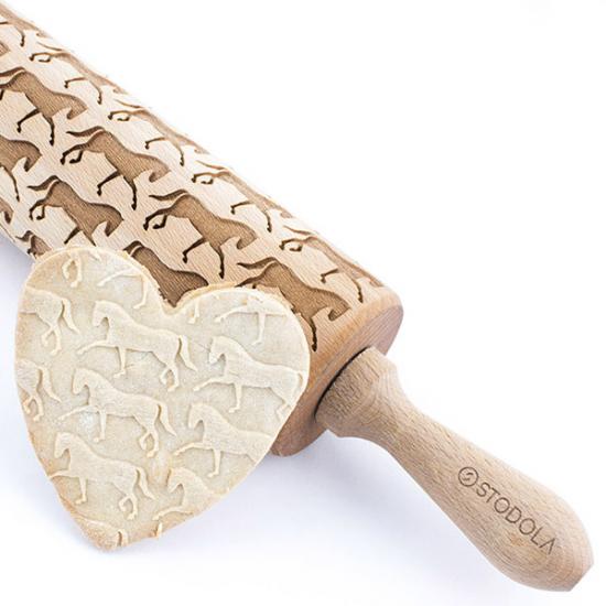 Dressurreiten – Nudelholz für Kekse