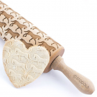 Dressage horse – Engraved rolling pin for cookies