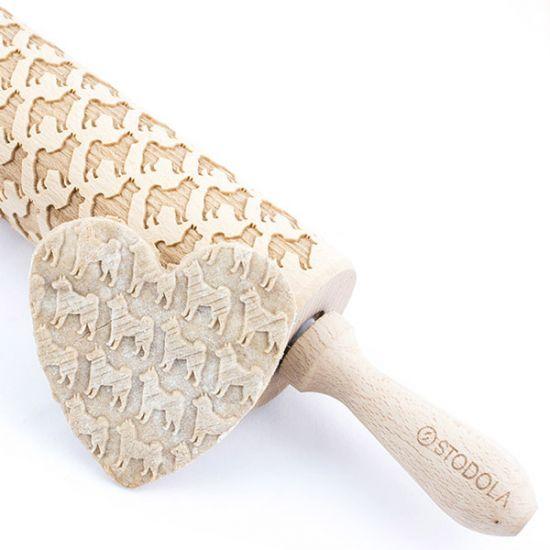 Shiba inu – Nudelholz für Kekse