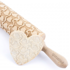 Border terrier – Engraved rolling pin for cookies