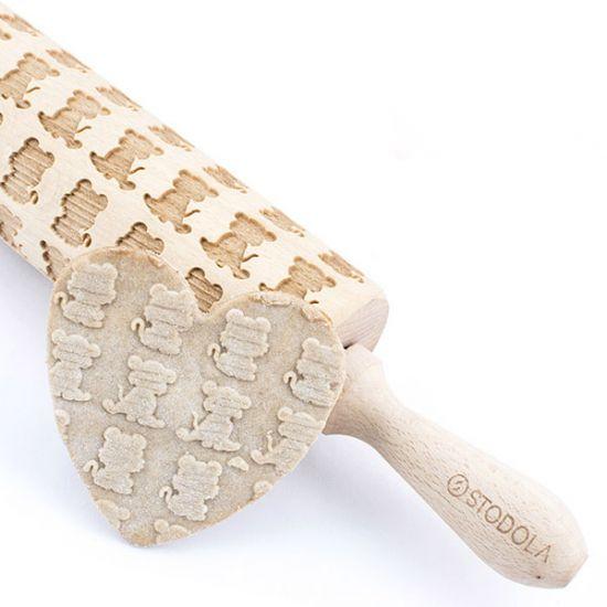 kleiner Tiger - Nudelholz für Kekse