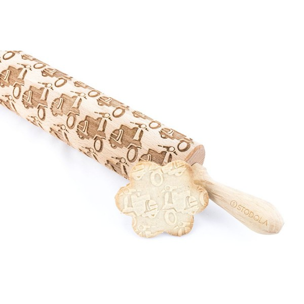 Vespa - Engraved rolling pin for cookies