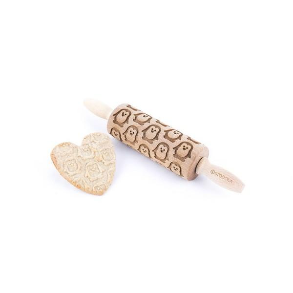 Penguin - Junior rolling pin for cookies