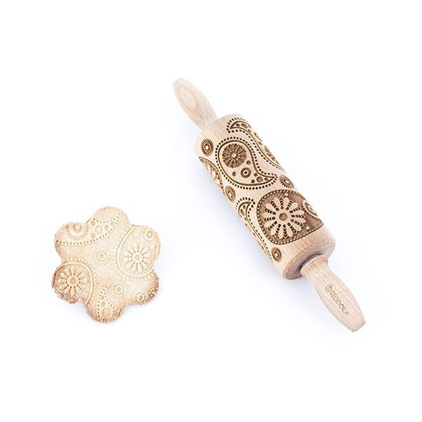 Paisley - Junior rolling pin for cookies