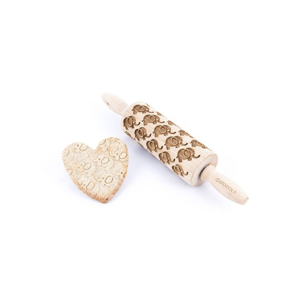 Elephant Junior rolling pin for cookies