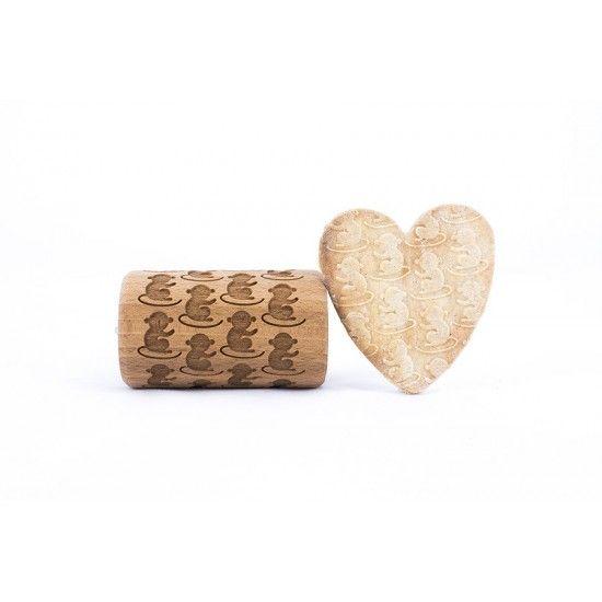 Monkeys - Mini rolling pin for cookies
