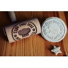 Personalized pattern - Mini rolling pin for cookies