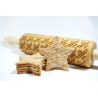Sombrero – Engraved rolling pin for cookies