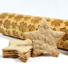 Four Leaf Clover - Engraved rolling pin for cookies