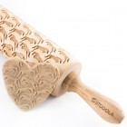 Jumping horses - Engraved rolling pin for cookies