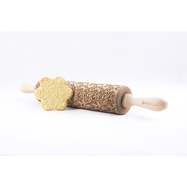 Folk Decorative Engraved Rolling Pin For Cookies Stodola Pl