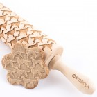 Irish Setter - Engraved rolling pin for cookies