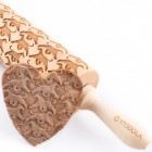 Afgan hound – Engraved rolling pin for cookies
