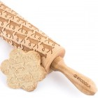 Goat - Engraved rolling pin for cookies