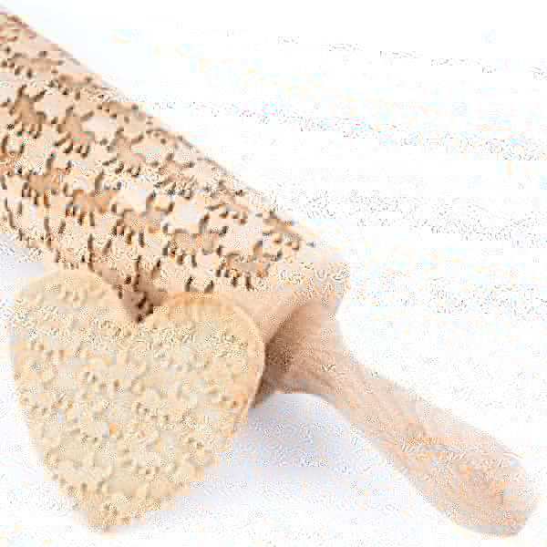 Donkey - Engraved rolling pin for cookies