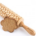 Dolphins - Engraved rolling pin for cookies