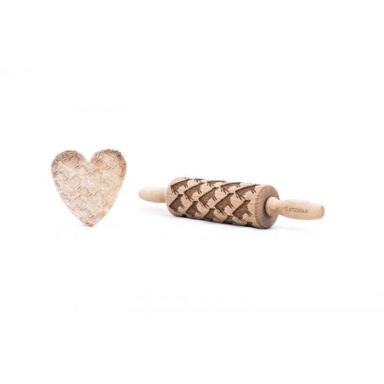 Kuh - Junior Nudelholz für Kekse