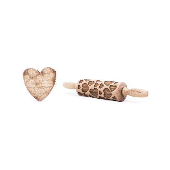 Herz - Junior Nudelholz für Kekse