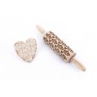 Doppeltes Herz - Junior Nudelholz für Kekse