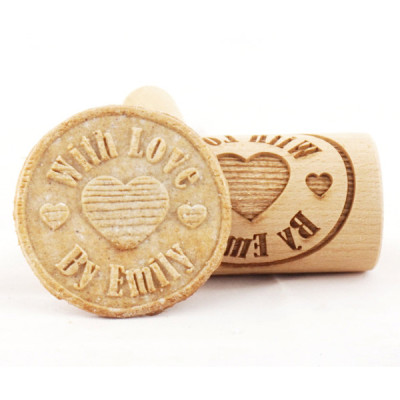 Personalized mini engraved rolling pin stodola